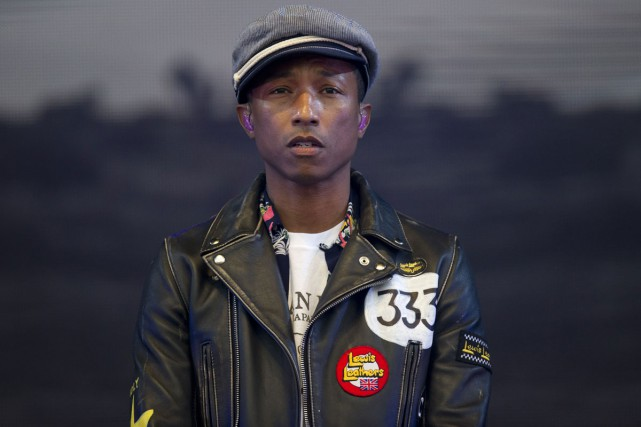 Pharrell Williams... (PHOTO ARCHIVES AFP)