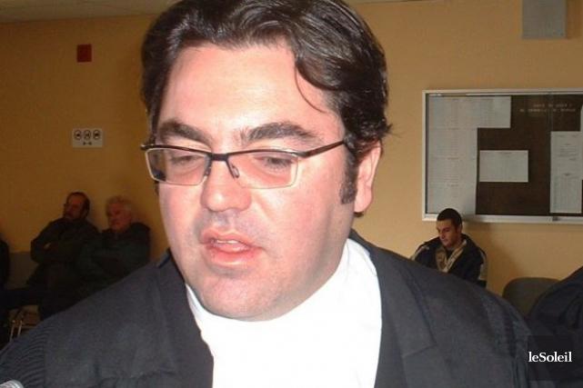 Le bâtonnier d'Arthabaska accusé au criminel... (Archives Le Soleil)