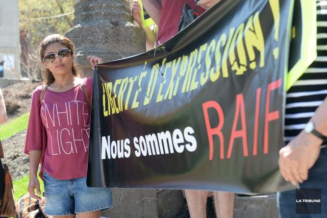 Selon l'épouse de Raif Badawi, Ensaf Haidar,les autorités... (Archives La Tribune, Maxime Picard)
