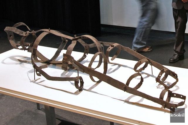 La légendaire cage de fer avait été découverte... (Photothèque Le Soleil)