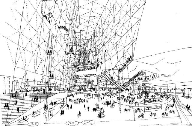 À quoi ressemblerait Montréal si des projets restés à l'état de maquette... (Photo fournie par l'exposition)