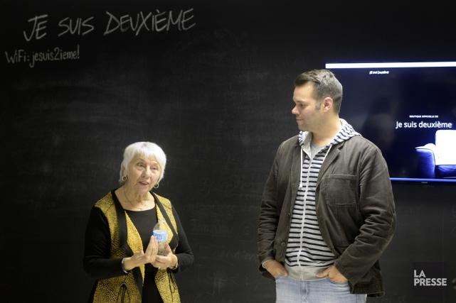 Monique Lépine a accepté de livrer son témoignage... (Photo Bernard Brault, La Presse)