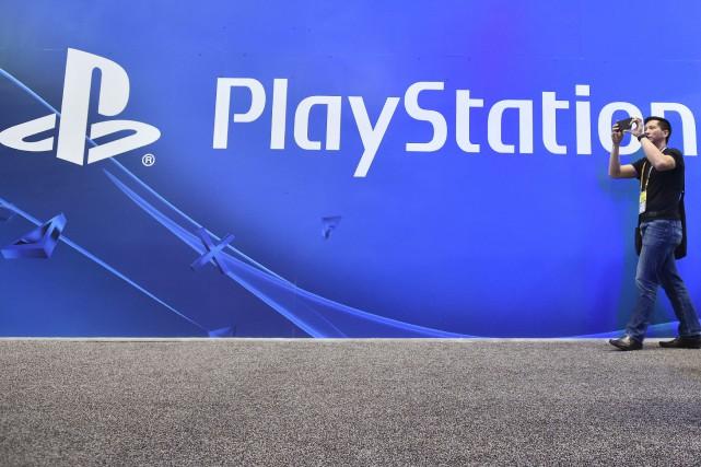 Au cours de sa conférence de presse, Sony,... (Photo archives AFP)