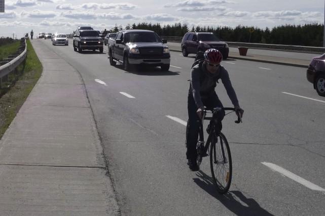 Éditorial / Les cyclistes sherbrookois réclament depuis des... (La Tribune, archives)