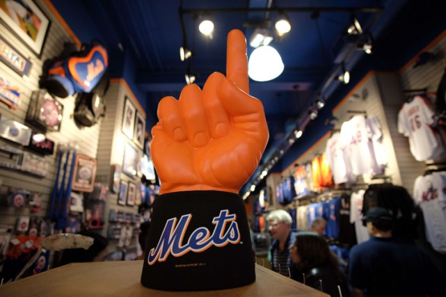 Les billets pour les matchs de série mondiale à New York se négocient... (PHOTO AFP)
