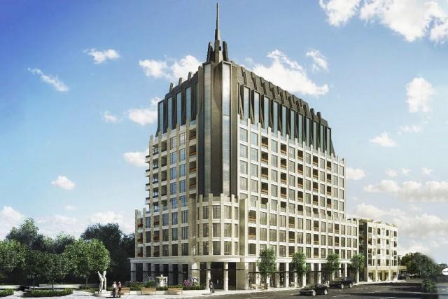 L'édifice à condominiums de 12 étages «distinctif» proposé... (Courtoisie)