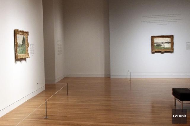 Soulignons la mise en espace judicieuse de l'exposition.... (Etienne Ranger, LeDroit)