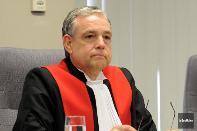 Le juge Michel Boudreault verra l'une de ses... (Archives Le Quotidien)