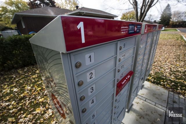 La livraison du courrier demeure morcelée: elle n'est... (Archives, La Presse)