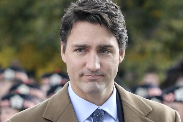 Le premier ministre désigné, Justin Trudeau....