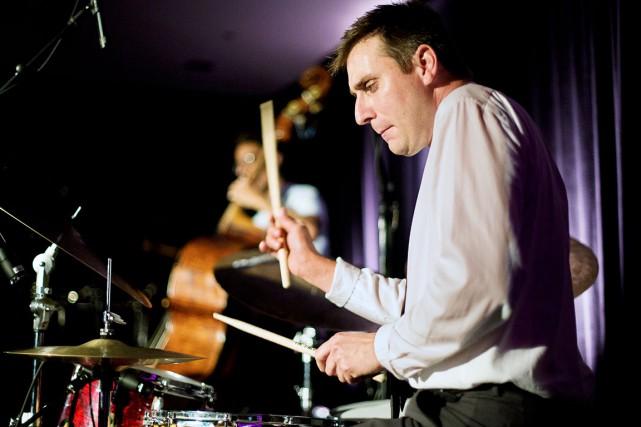 La direction artistique a été confiée au batteur... (fournie par le Festival de jazz de Québec)