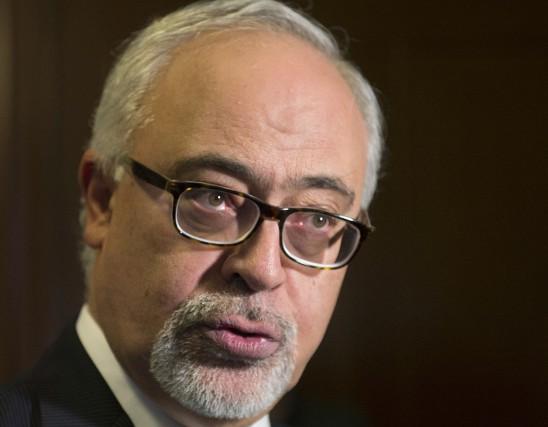 Le ministres des Finances du Québec, Carlos Leitao... (La Presse Canadienne, Jacques Boissinot)