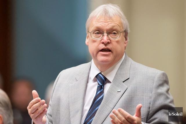 Le ministre de la Santé,Gaétan Barrette.... (PHOTO ARCHIVES LE SOLEIL)