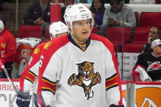 Aleksander Barkov a inscrit 30 points en 38 matchs... (ARCHIVES AP)