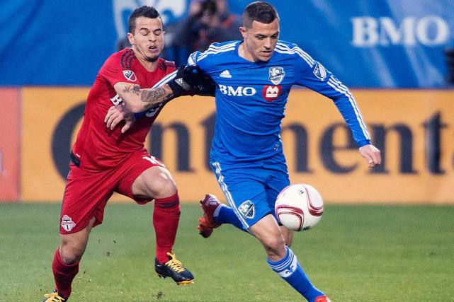 L'Impact l'avait emporté 2-1 dimanche contre le Toronto... (La Presse Canadienne, Graham Hughes)
