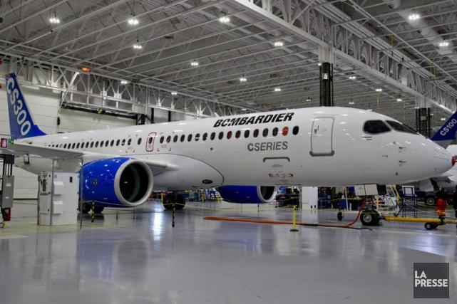 Bombardier a lancé le programme de la CSeries... (PHOTO DAVID BOILY, ARCHIVES LA PRESSE)