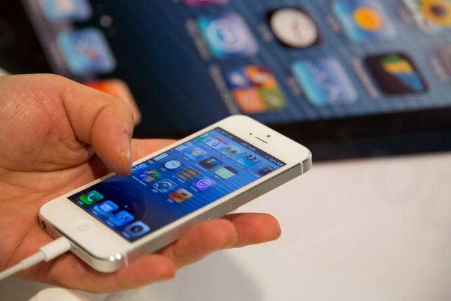 L'iPhone continue de jouer son rôle de moteur... (Bloomberg)