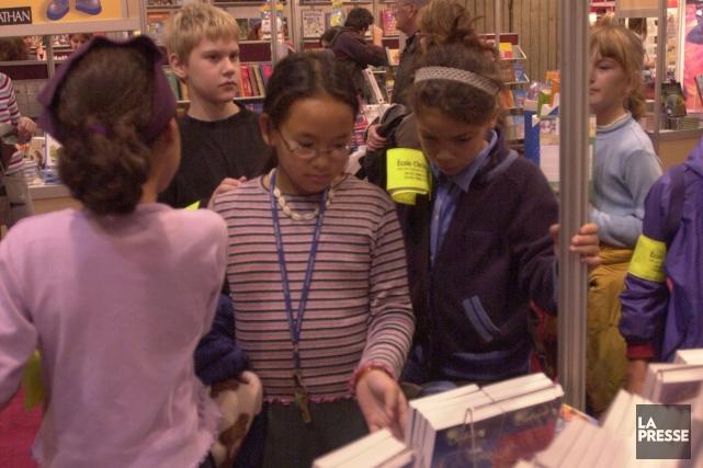 Normalement victimes de leur succès, les matinées scolaires du Salon du livre... (PHOTO ROBERT NADON, ARCHIVES LA PRESSE)
