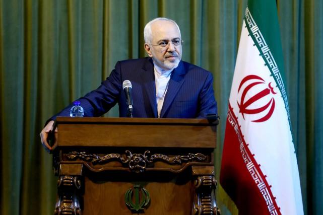 Le chef de la diplomatie iranienne Javad Zarif,... (PHOTO EBRAHIM NOROOZI, ARCHIVES AP)