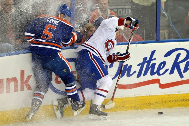 Mark Fayne et Brendan Gallagher... (Photo archives USA Today)