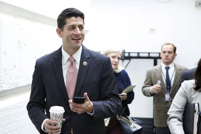 À 45 ans, Paul Ryan devrait être choisi... (PHOTO YURI GRIPAS, REUTERS)