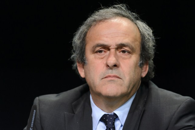 Michel Platini... (PHOTO ARCHIVES AFP)