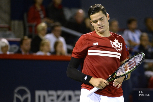 Milos Raonic... (PHOTO BERNARD BRAULT, ARCHIVES LA PRESSE)