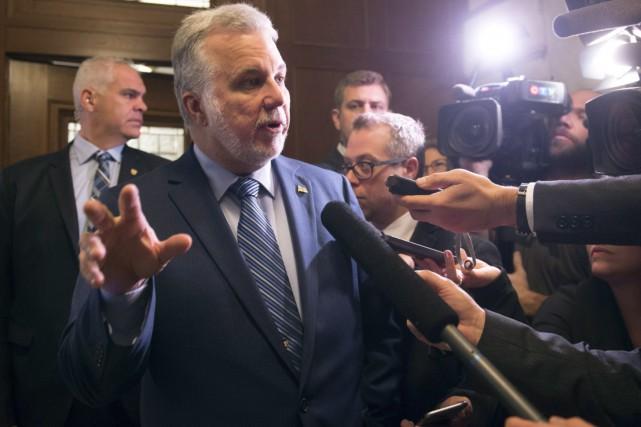 «J'ai toujours rencontré avec plaisir les chefs des... (La Presse Canadienne, Jacques Boissinot)