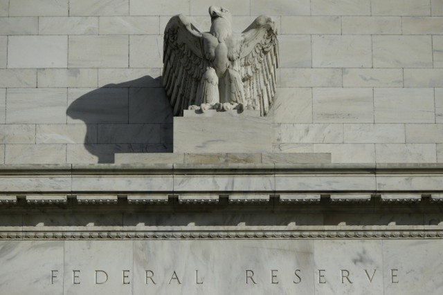 Le Comité monétaire de la Réserve fédérale américaine (Fed) a maintenu mercredi... (PHOTO ARCHIVES REUTERS)