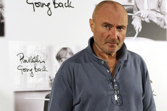Le chanteur anglais Phil Collins, l'un des chanteurs les plus populaires des... (PHOTO ARCHIVES AFP)