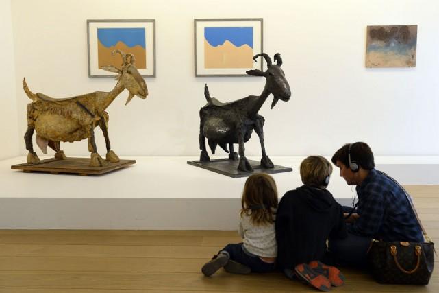 Mettre en valeur «le mystère du processus créatif de Picasso» en confrontant... (PHOTO AFP)