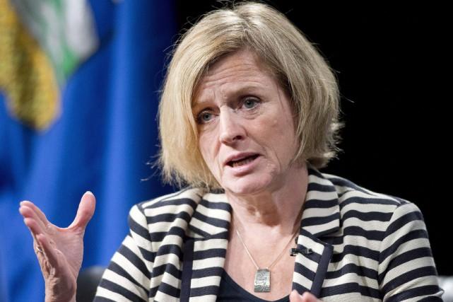 La première ministre de l'Alberta, Rachel Notley... (Photo Larry MacDougal, La Presse Canadienne)