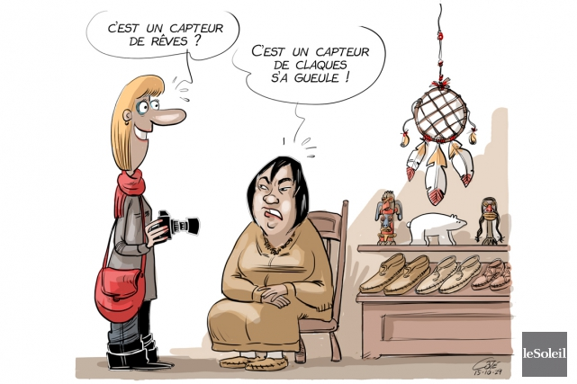 Caricature du jeudi 29 octobre 2015... (Le Soleil, André-Philippe Côté)