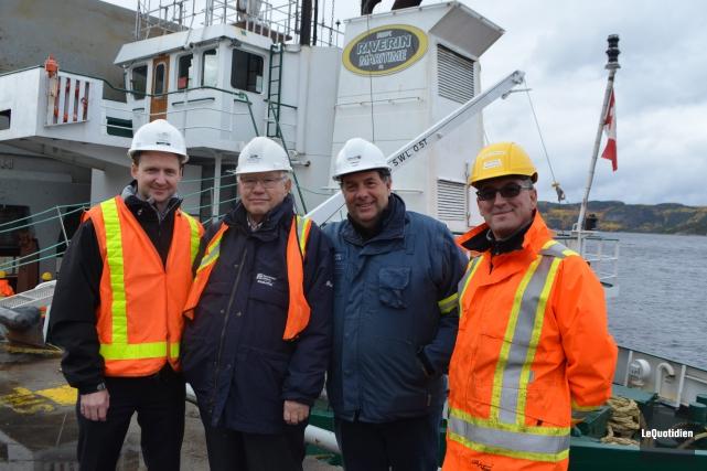 Carl Laberge, diirecteur général de Port Saguenay, Réal... (Photo Le Quotidien, Laura Lévesque)