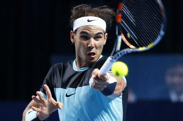 Nadal, troisième tête de série, avait eu de... (Photo Reuters)
