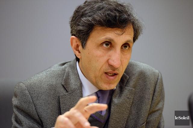 Amir Khadir salue le «geste politique» du Dr... (Archives Le Soleil)