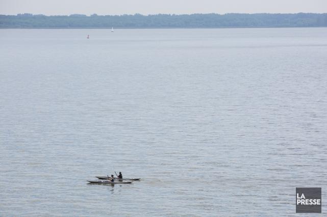 Le lac Saint-Pierre... (La Presse)