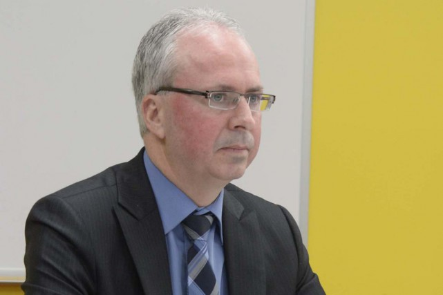 Claude Bourassa, président directeur général d'ICO Technologies.... (Sylvain Mayer)