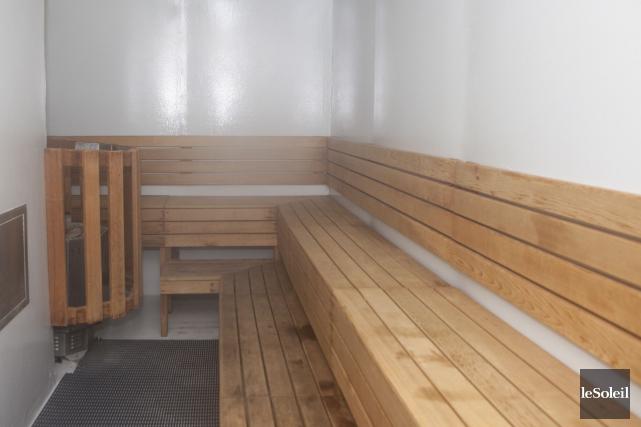 Le dernier sauna sous la responsabilité de la... (Le Soleil, Caroline Grégoire)
