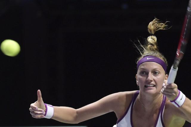 Kvitova, classée quatrième, a maintenant une fiche de... (Associated Press)