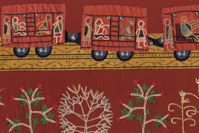 Le film d'animation indien The Stiches Speak sera... (Fournie par le festival international du film sur les métiers d'Art)