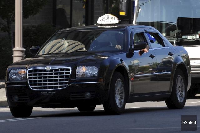 Les chauffeurs de taxi de Québec veulent renforcer... (Photothèque Le Soleil, Erick Labbé)