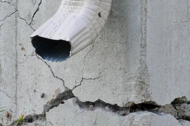 La pyrrhotite a fait des ravages en Mauricie.... (Émilie O'Connor)