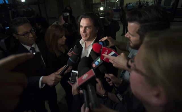 Patrick Brazeau... (Sean Kilpatrick, La Presse Canadienne)