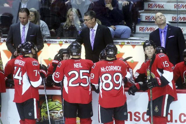 CHRONIQUE/ C'était la soirée «Le hockey lutte contre le... (Etienne Ranger, LeDroit)
