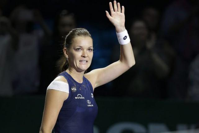Agnieszka Radwanska... (PHOTO WONG MAYE-E, AP)