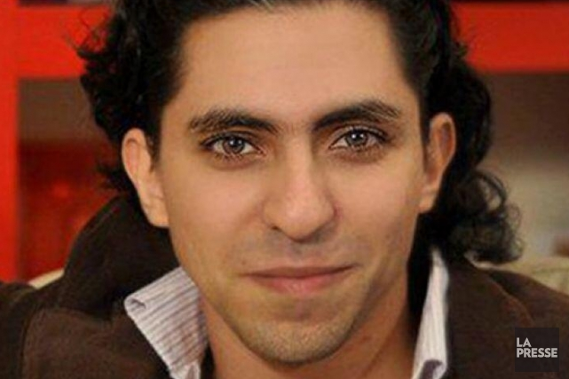 Animateur du site internet Liberal Saudi Network, Raif... (PHOTO ARCHIVES LA PRESSE)