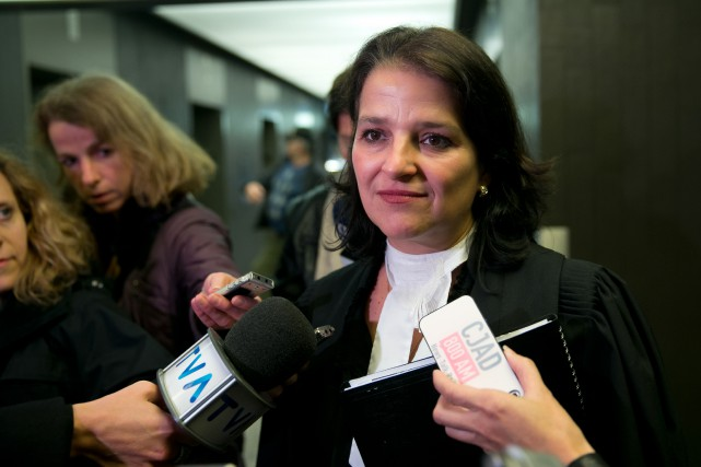 La procureure Marie-Hélène Giroux, impliquée dans la lutte...
