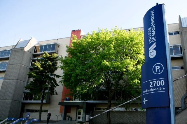 Un professeur du Collège de Maisonneuve vient d'être... (Photo Olivier Jean, La Presse)