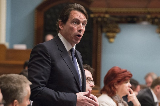 Pour Pierre Karl Péladeau, «le gouvernement a montré... (PHOTO JACQUES BOISSINOT, ARCHIVES LA PRESSE CANADIENNE)